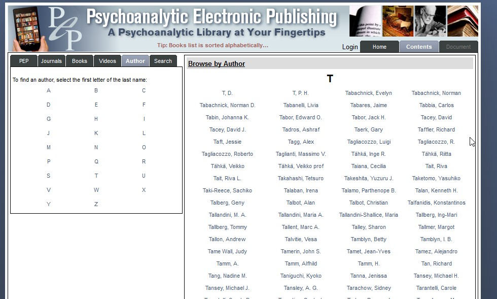 Author Index - Browse by Author